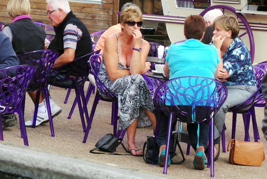 Chatsworth House - Sept 2014 - Cafe Culture Candid