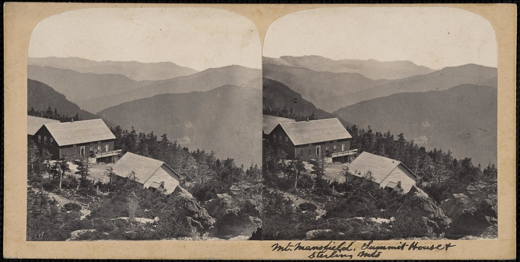 Mt. Mansfield, summit house & Sterling Mt.