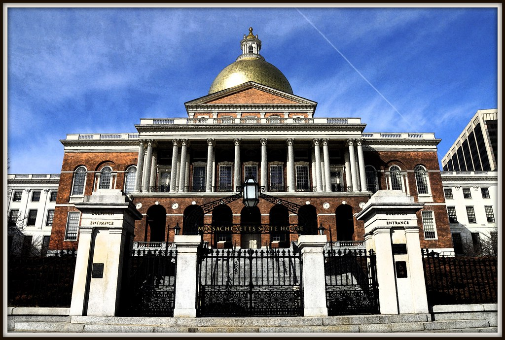 The Massachusetts State House (1798) (1 of 2)
