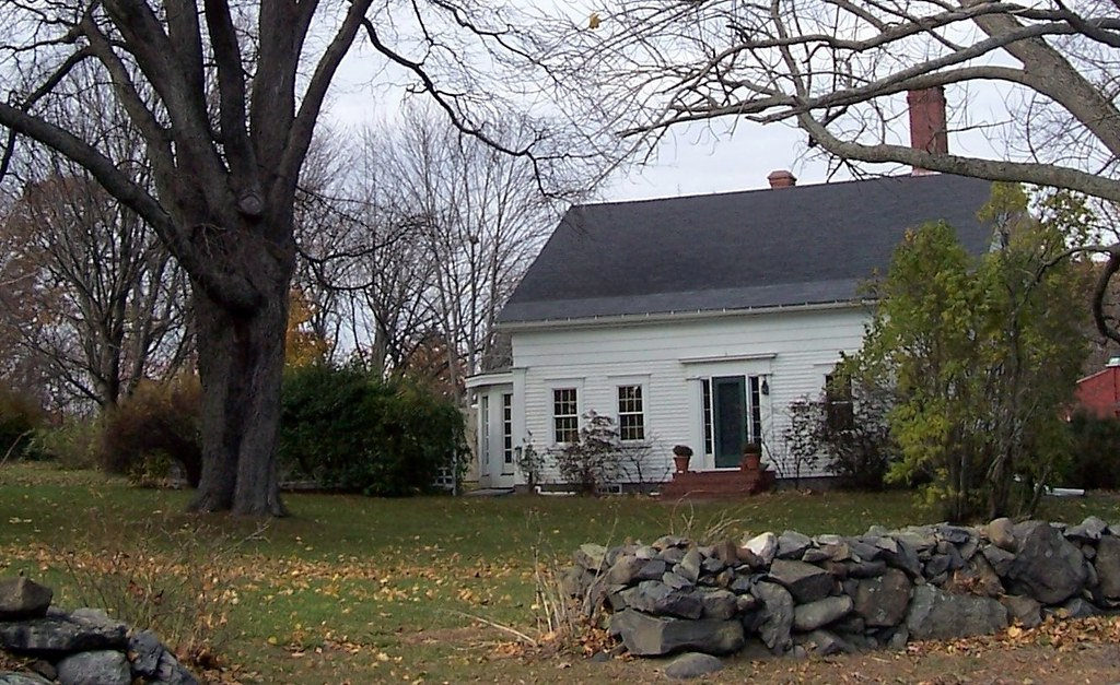 On the Line: Old House Near Eliot