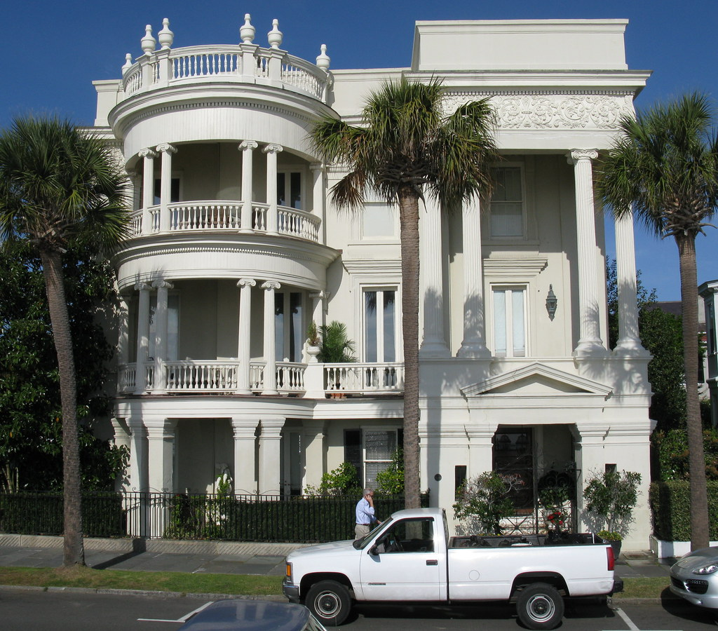 Porcher-Simonds House (c.1856), 29 East Battery, Charleston, SC